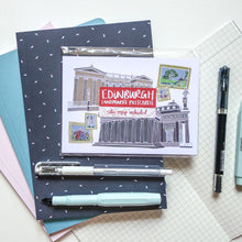 Load image into Gallery viewer, Edinburgh Landmarks Postcard Set - Victoria Rose Ball
