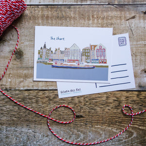 The Shore Postcard - Victoria Rose Ball