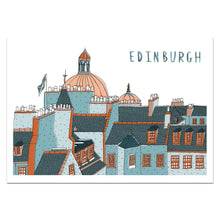 Load image into Gallery viewer, Edinburgh Skyline Print - Victoria Rose Ball