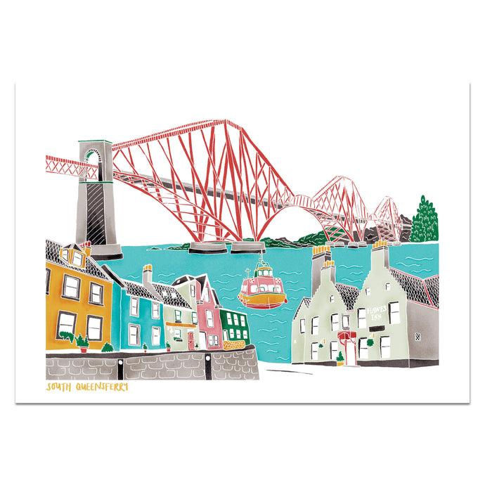 South Queensferry Print - Victoria Rose Ball