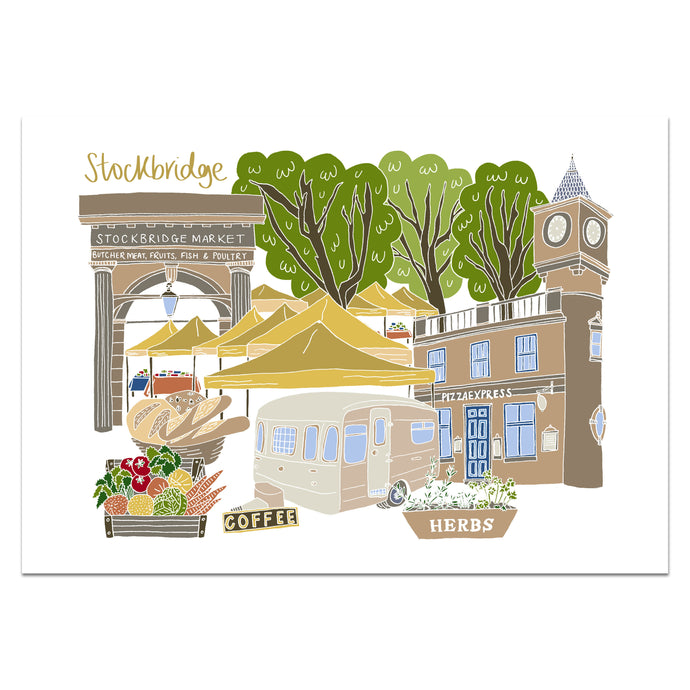 Stockbridge Print - Victoria Rose Ball