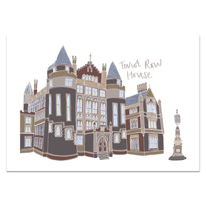 Teviot Row House Print - Victoria Rose Ball
