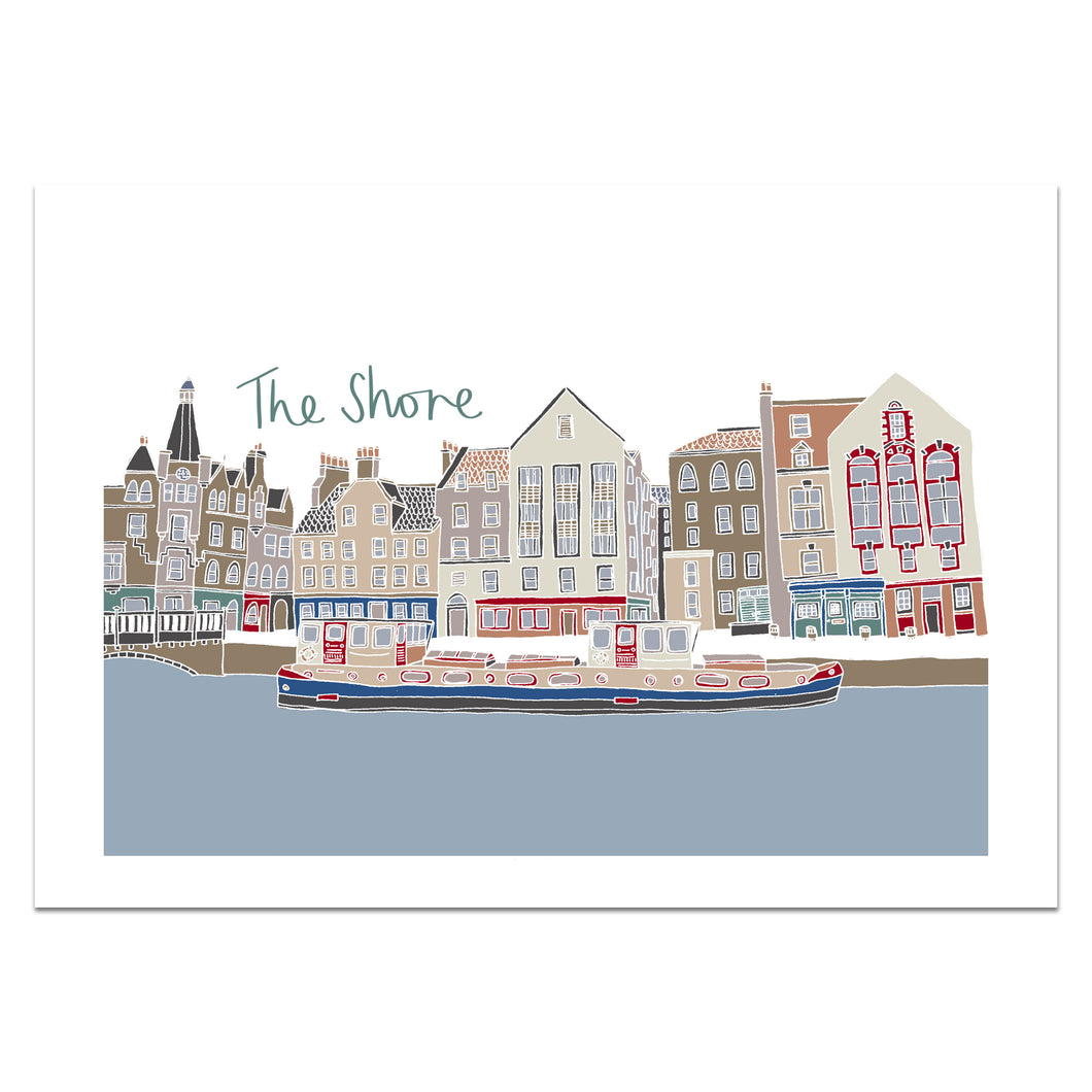 The Shore Edinburgh Print - Victoria Rose Ball