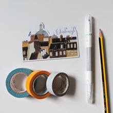 Load image into Gallery viewer, Edinburgh Skyline Magnet - Victoria Rose Ball