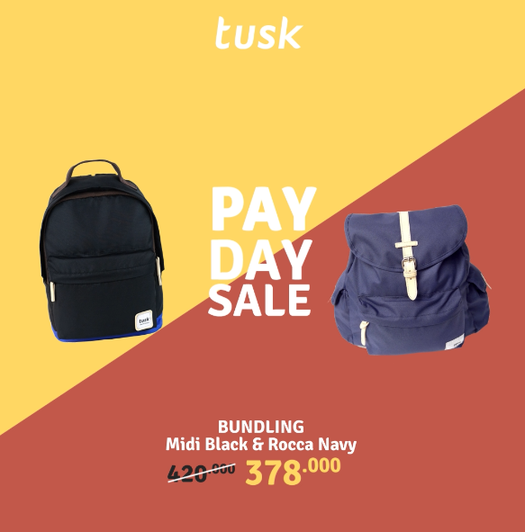 Bundling Midi Black + Rocca Navy