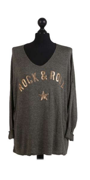 Rock & Roll Fine Knit