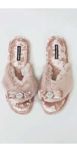 Pretty You Amelie Slippers in Pink