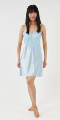 The Charlotte Nightie - Powder Blue - TheSecretCloset.Boutique