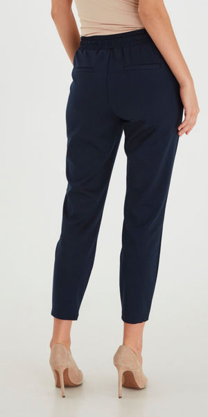 B. Young Rizetta Jersey Trouser in Navy