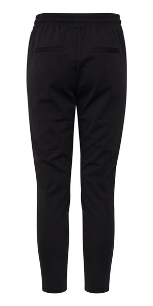 B. Young Rizetta Jersey Trouser in Black