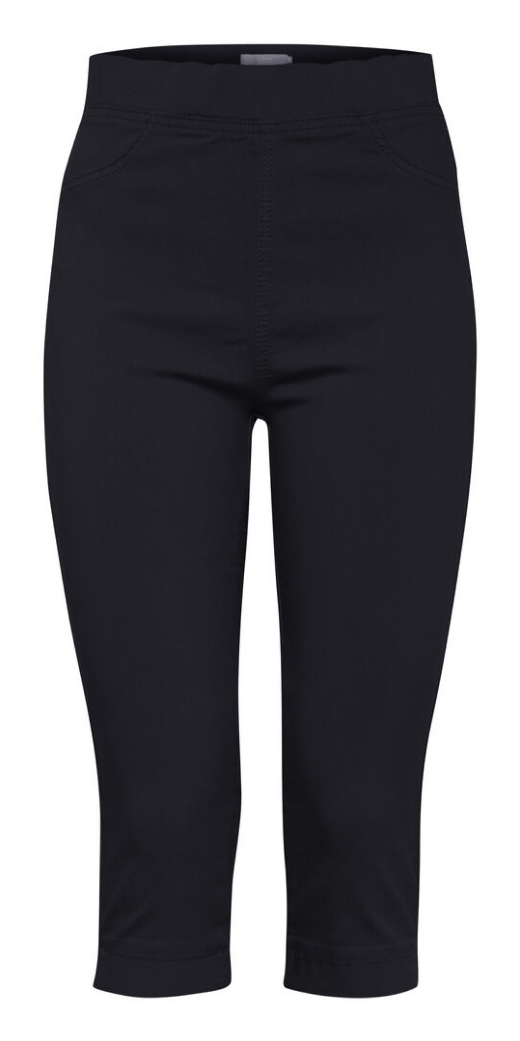 B. Young Keira Capri Trouser in Black