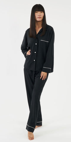 The Sarah Pyjama - Black - TheSecretCloset.Boutique