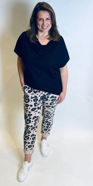 Soft Animal Stretch Trouser