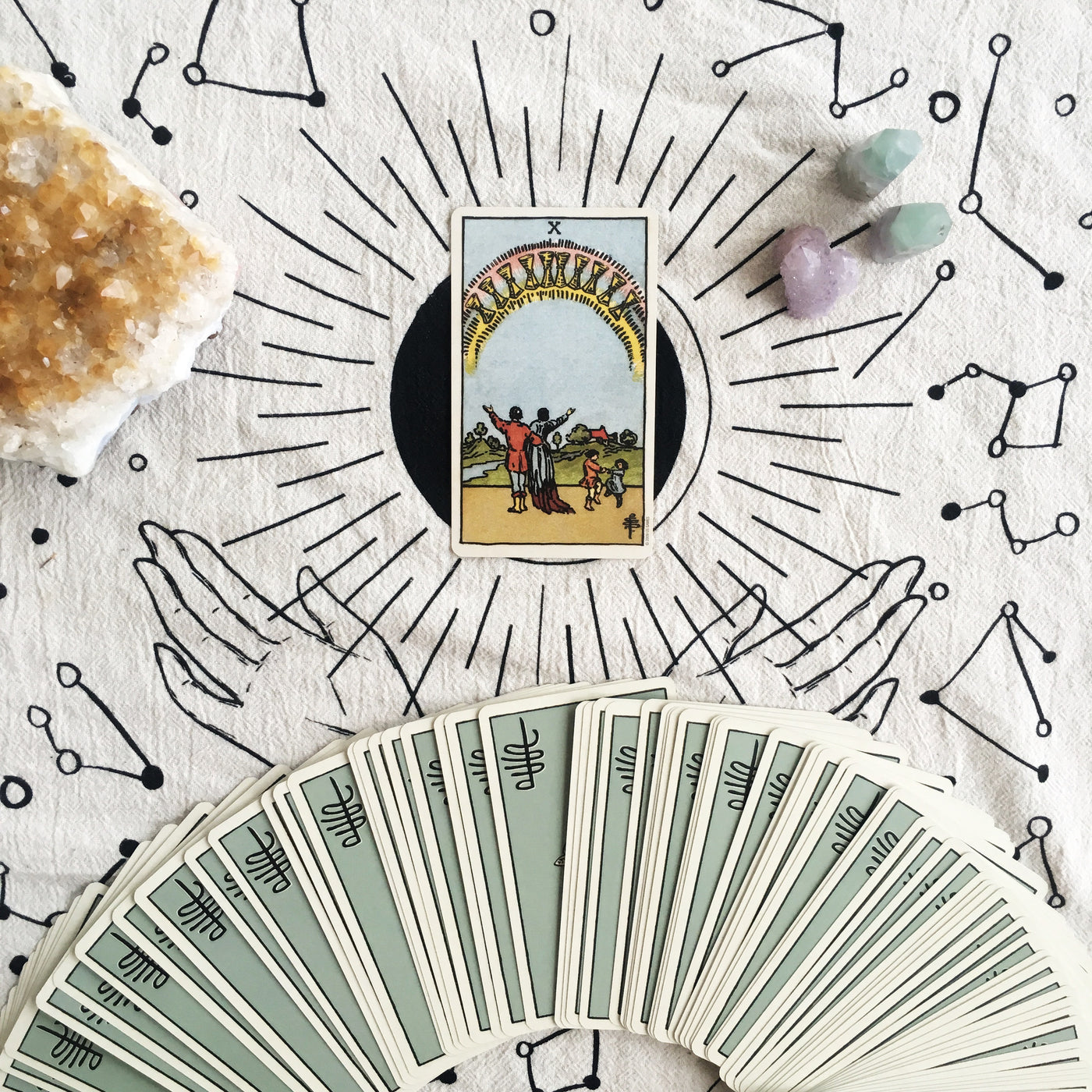 Guest Blog: Tarot for Creating the Future By Claire Burgess
