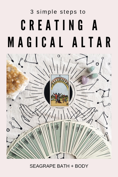 Altar building: 3 simple steps for creating a magical personal Altar