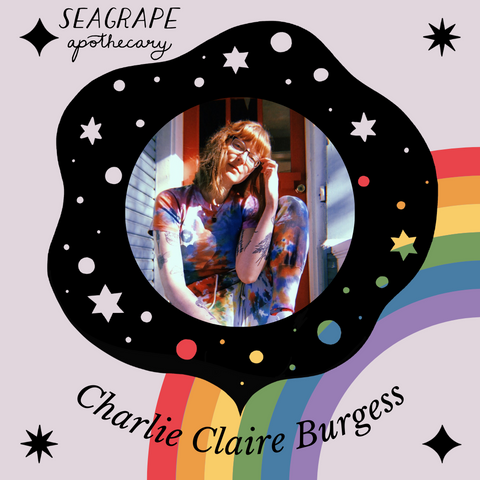 Fifth Spirit Tarot owner, Charlie Claire