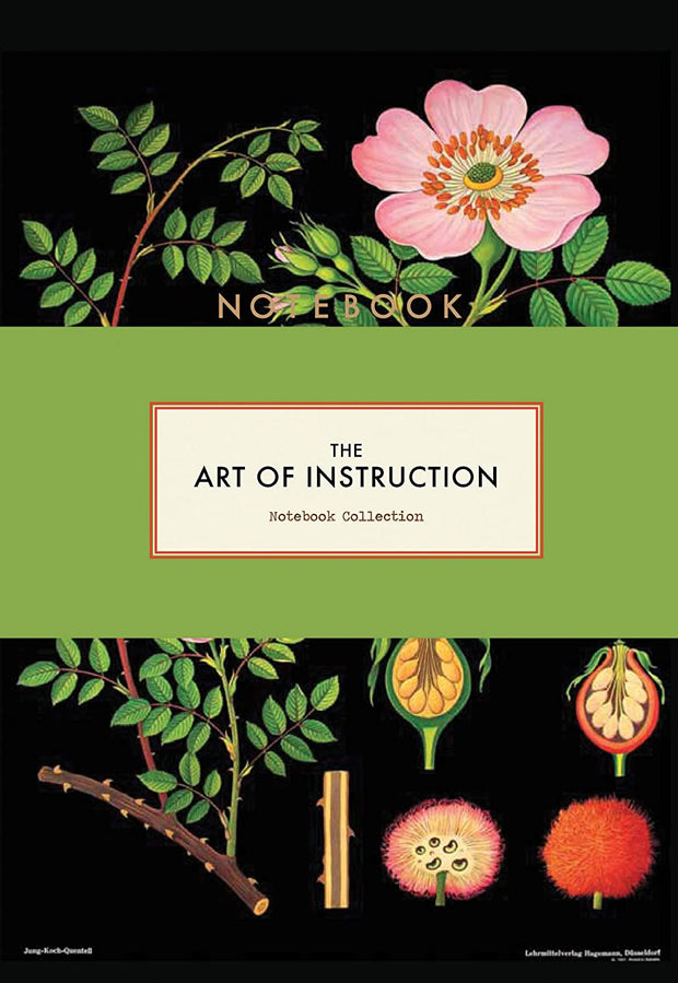Art of Instruction Floral Notebook Collection