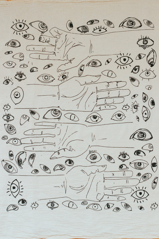 Hands and Eyes Signature Printed Altar Cloth
