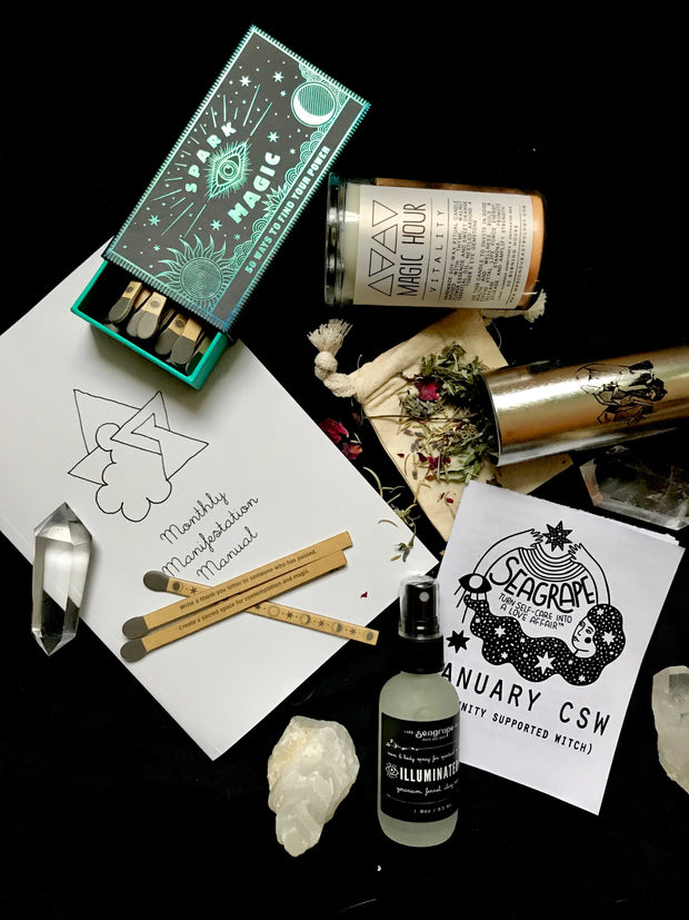 January Community Supported Witch (CSW) Kit: Goals & Structure