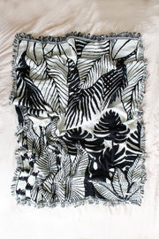JUNGLE REVERSIBLE THROW BLANKET