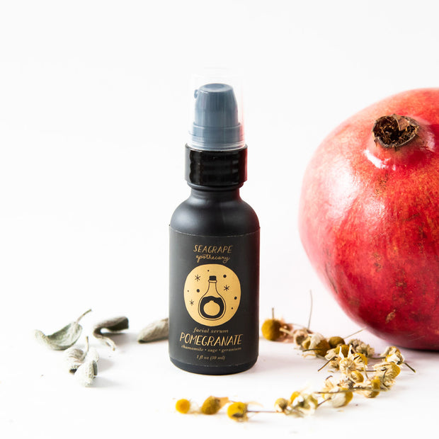 Pomegranate face serum