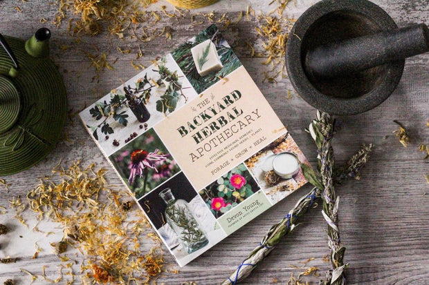 The Backyard Herbal Apothecary: Effective Medicinal Remedies Using Commonly Found Herbs and Plants