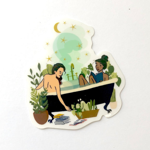 Bath Babes Sticker