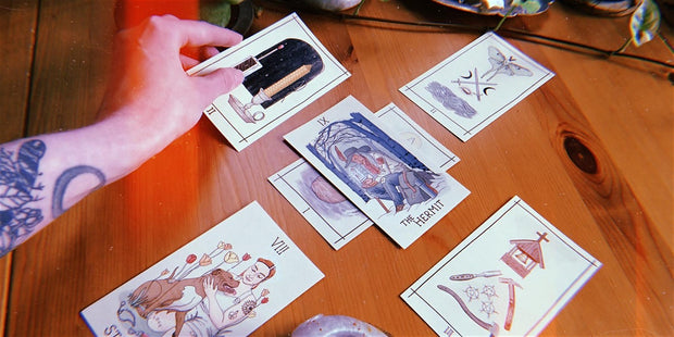 04-22-2020 - Tarot as Compass: Creating and Reading Your Own Tarot Spreads