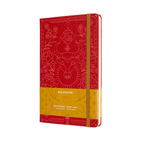 YEAR OF THE OX LIMITED EDITION MOLESKINE NOTEBOOK