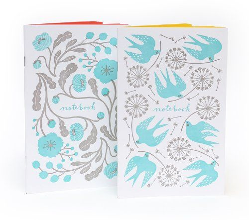 Letterpress Floral Notebook