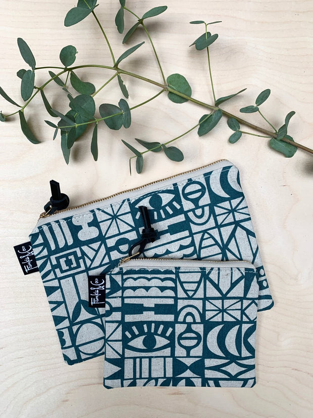 Cloth Zipper Pouch