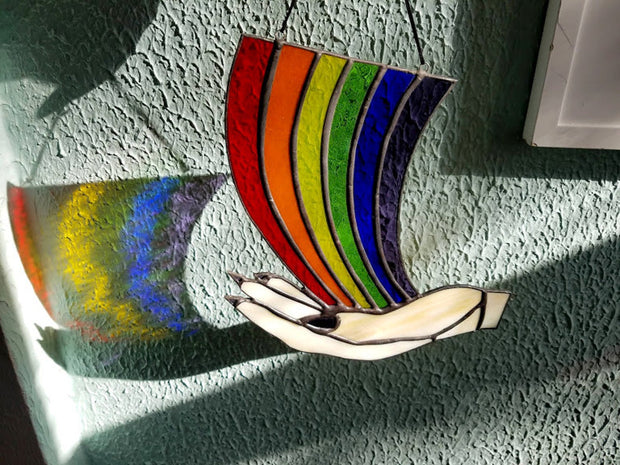 Rainbow Maker Corner Sun Catcher