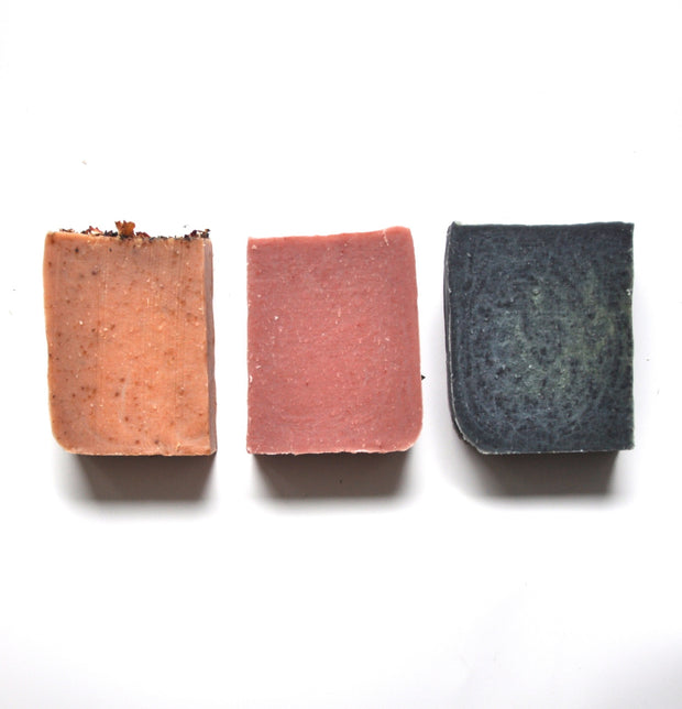 Set of 3 Detox Soap Bars