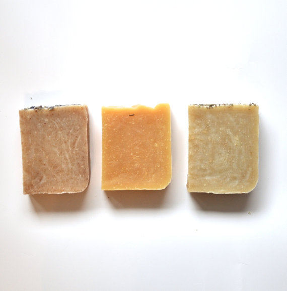 Set of 3 Shampoo Bars