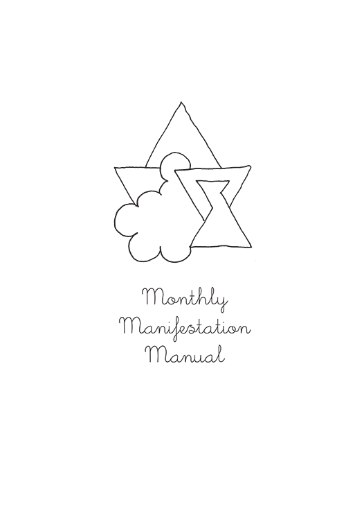 Monthly Manifestation Manual