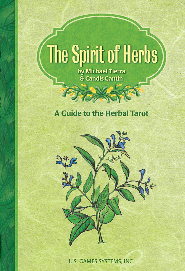 The Spirit of Herbs Tarot Book