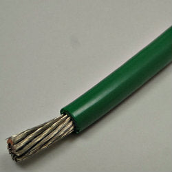 6 AWG Gauge Battery Cable Tinned Copper Marine Wire Green by the foot