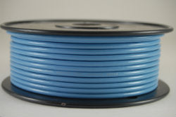 12 AWG Gauge Primary Wire Tinned Copper Marine Grade Light Blue 25 ft