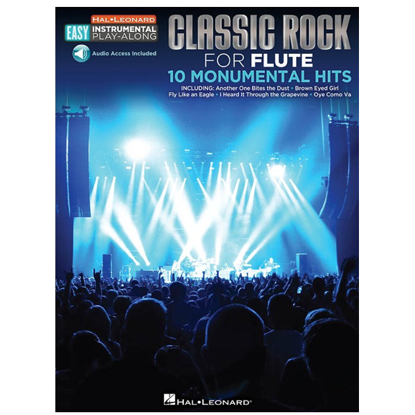 Classic Rock for Flute 10 Monumental Hits