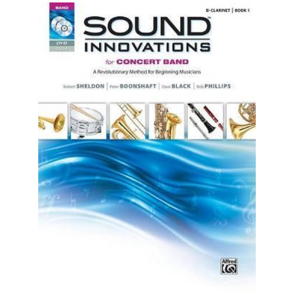 Sound Innovations for Concert Band Bk 1 Bb Clarinet inc CD