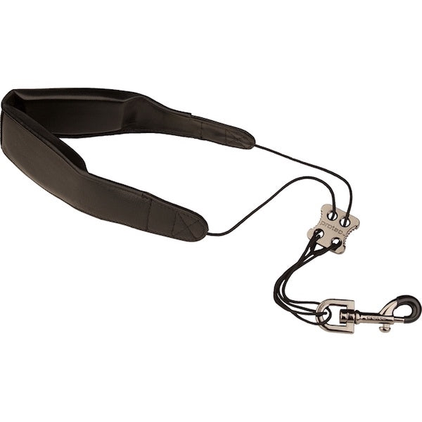 Saxophone neck strap Soft Nappa Leather