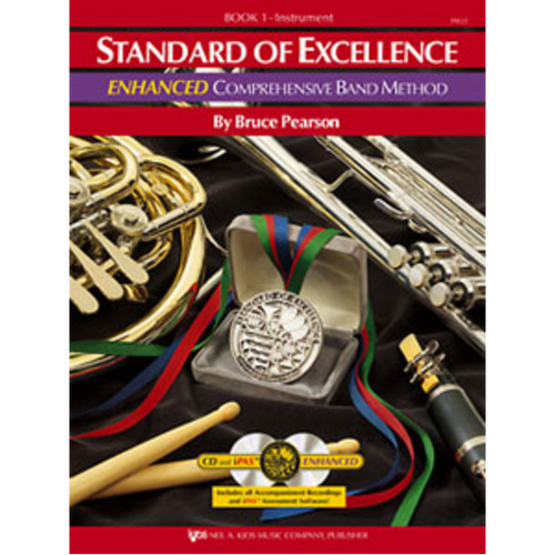 Standard of Excellence Comprehensive Band Method - Bk.1 Baritone TC