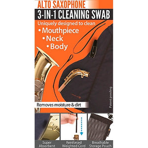 Alto Saxophone 3 in 1 cleaning swab