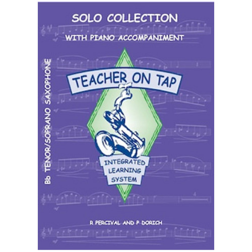 Teacher on Tap - Solo Collection - Tenor/Soprano Sax