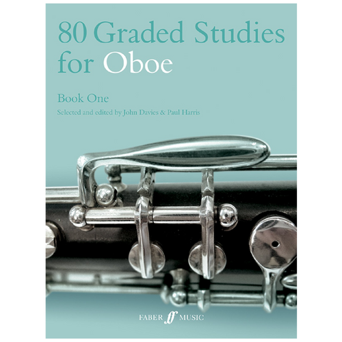 80 Graded Studies for Oboe Bk.1 - John Davies & Paul Harris