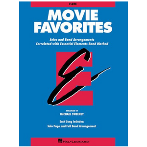 Essential Elements Band Method Movie Favourites - Baritone TC