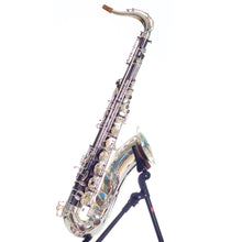 Load image into Gallery viewer, Temby Black and Silver Custom Tenor Saxophone (2nd Hand)