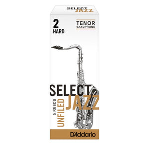 D'Addario Select Jazz Tenor Saxophone Reed (Unfiled)