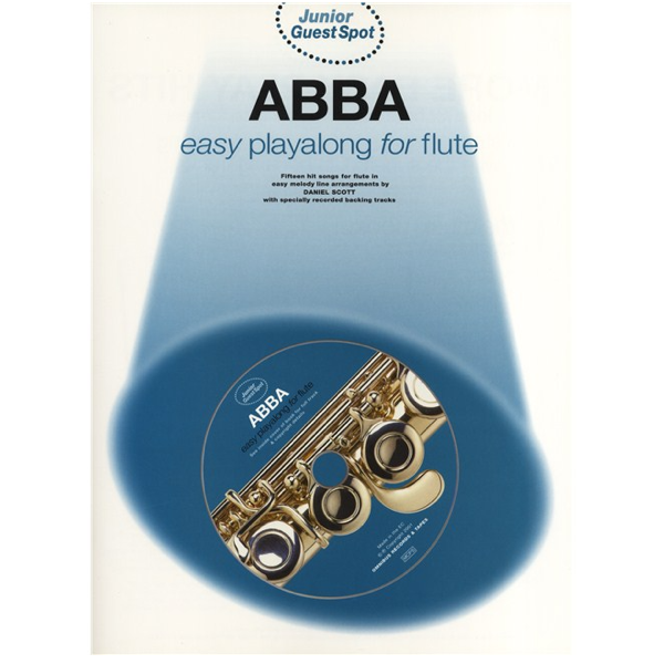 Guest Spot Junior ABBA easy playalong for Flute