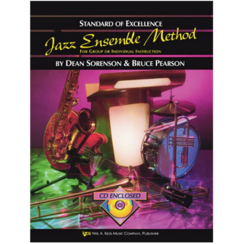 Jazz Ensemble Method Baritone Saxophone inc CD